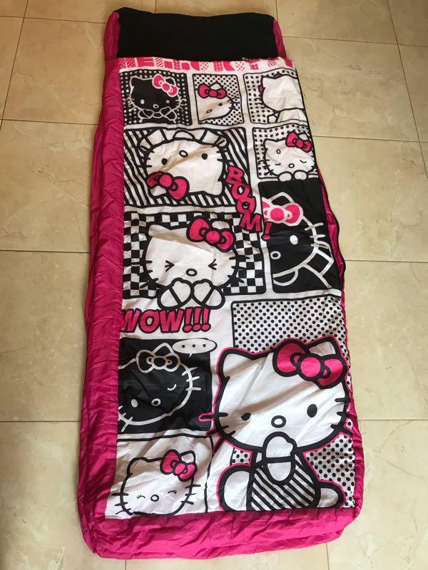 Hello kitty спальный мешок спальник детский