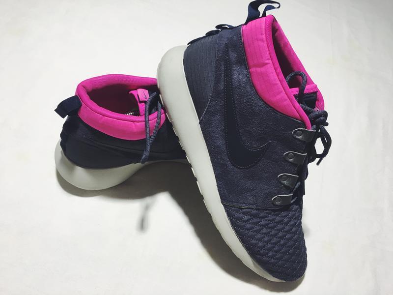 Мужские кроссовки nike roshe run sneakerboot ( найк 46рр 30 см)