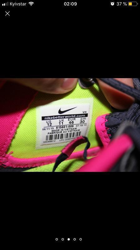 Мужские кроссовки nike roshe run sneakerboot ( найк 46рр 30 см) - Фото 2