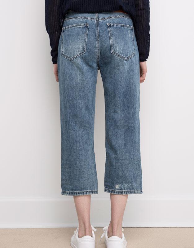 #розвантажуюсь джинсы мом мам бойфренды  mom fit pull&bear  xs... - Фото 3