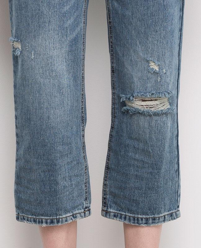 #розвантажуюсь джинсы мом мам бойфренды  mom fit pull&bear  xs... - Фото 4