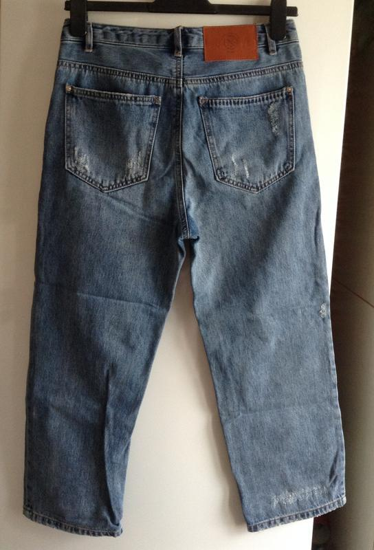#розвантажуюсь джинсы мом мам бойфренды  mom fit pull&bear  xs... - Фото 7