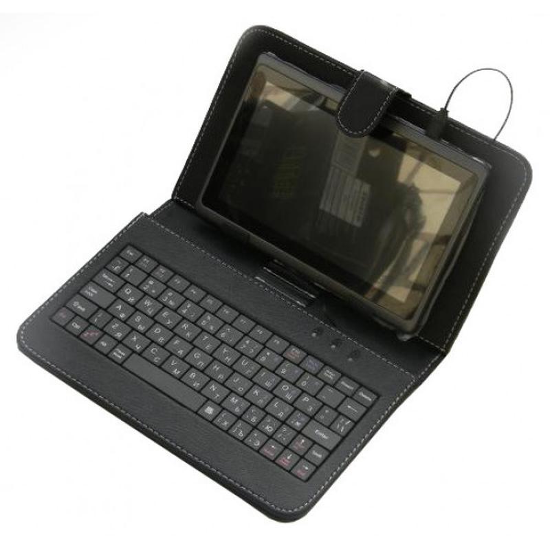 Универсальный чехол-клавиатура для планшетов с micro USB - Фото 2