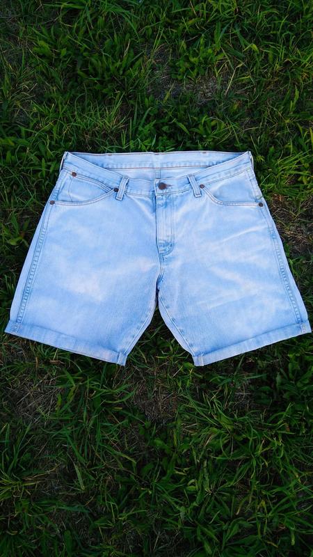 Мужские шорты , джинсовые мужские шорты , шорты мужские - Фото 2