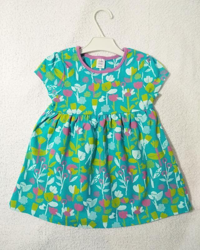 Літнє плаття mini club на 1-2 роки