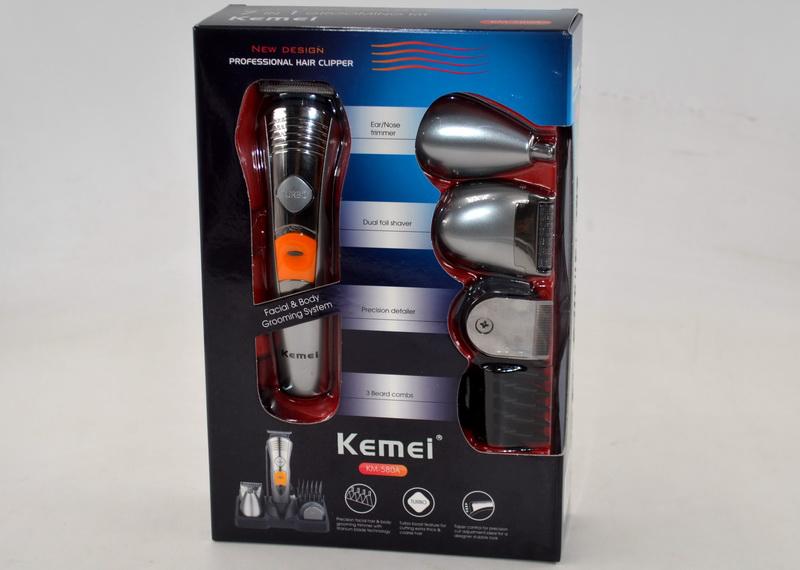 Машинка для стрижки волос 7 в 1 Kemei KM-580A триммер - Фото 5