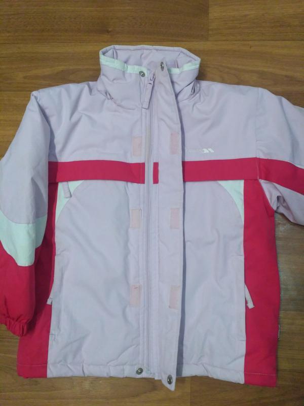 Trespass зимняя термокуртка для девочки, рост 110-116 см