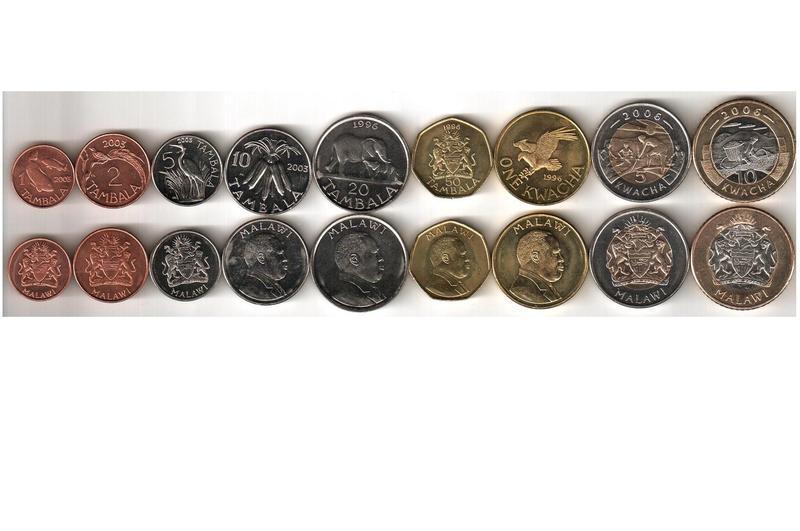 Набор монет Малави