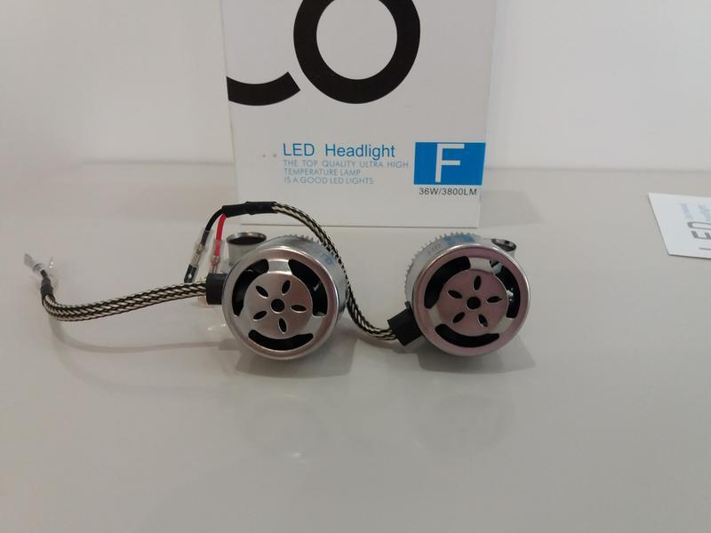 Комплект автомобильных LED ламп C6 HeadLight H1 12v  36 Вт - Фото 4
