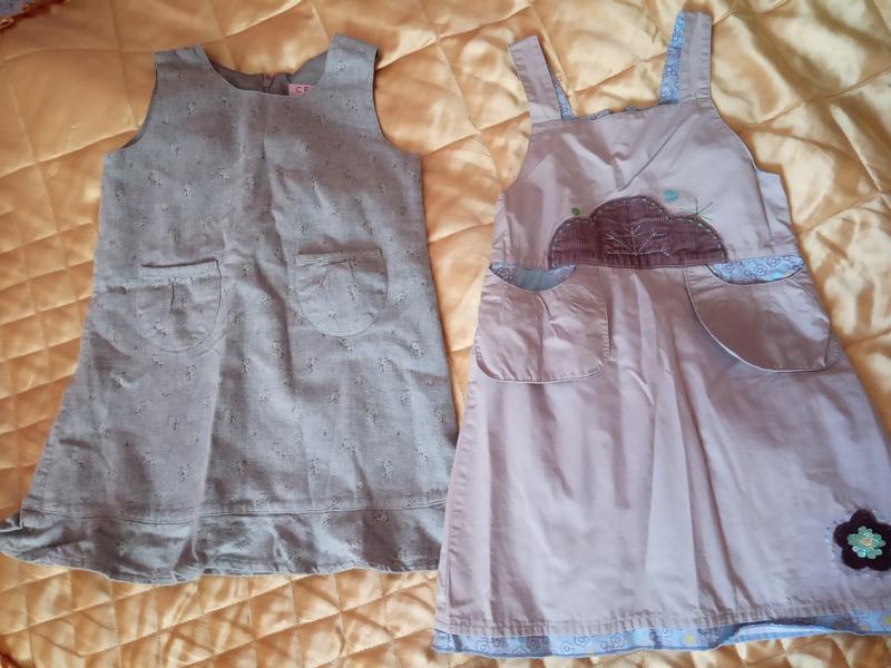 Сарафан платье юбки штаны пакет вещей 3-5 лет