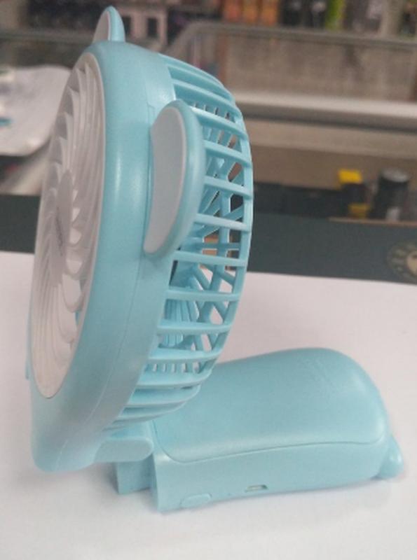 Миниатюрный складной вентилятор с зеркалом Remax Fan Mirror Folda - Фото 7