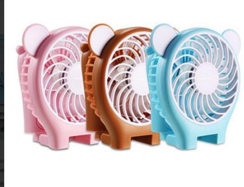 Миниатюрный складной вентилятор с зеркалом Remax Fan Mirror Folda - Фото 6