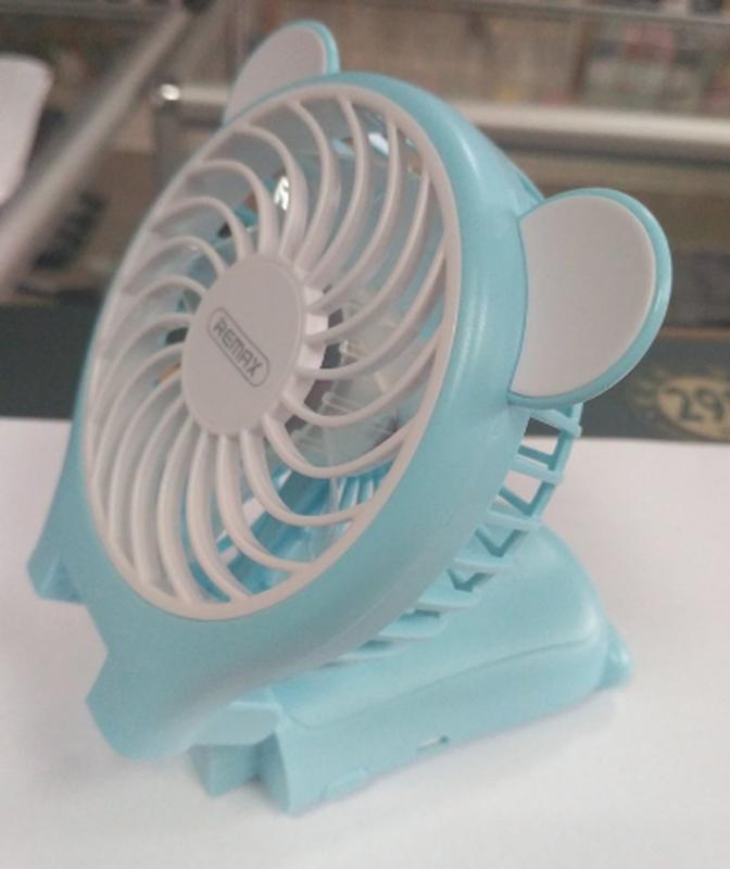 Миниатюрный складной вентилятор с зеркалом Remax Fan Mirror Folda - Фото 10