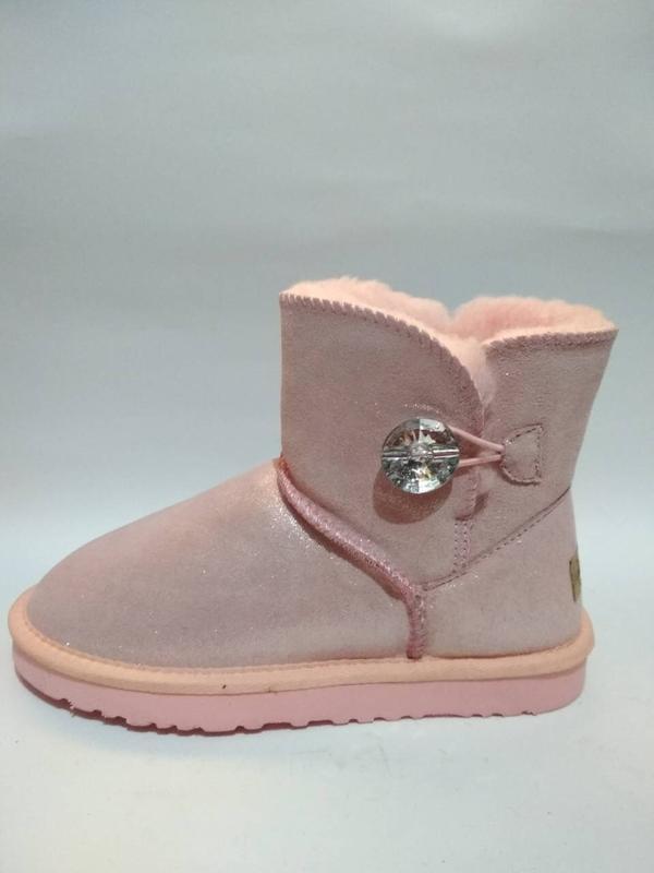 Ugg розовые с кристаллом