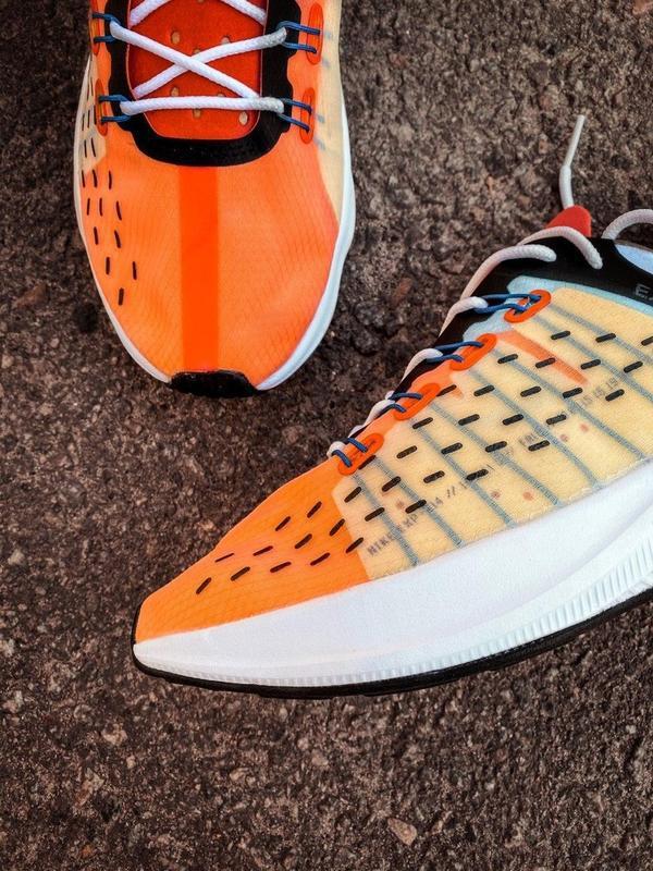 Шикарные мужские кроссовки nike оранжевые - Фото 2