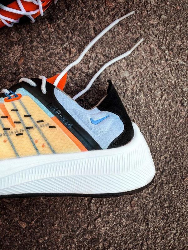 Шикарные мужские кроссовки nike оранжевые - Фото 4