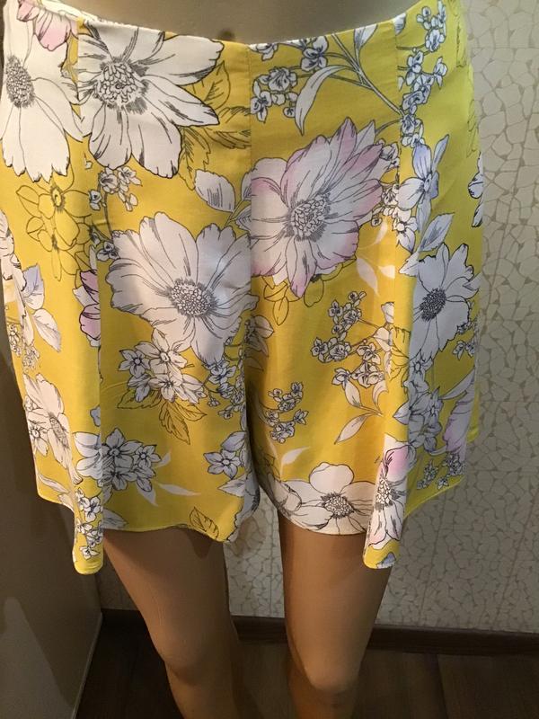 🔥красивые летние шорты высокая посадка 100% вискоза - Фото 2