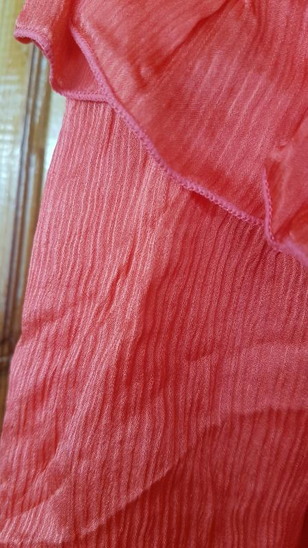 Sale шёлковая блуза love republic без рукавов - Фото 4