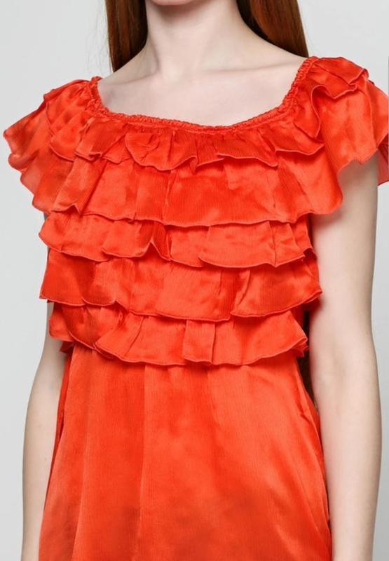 Sale шёлковая блуза love republic без рукавов - Фото 6
