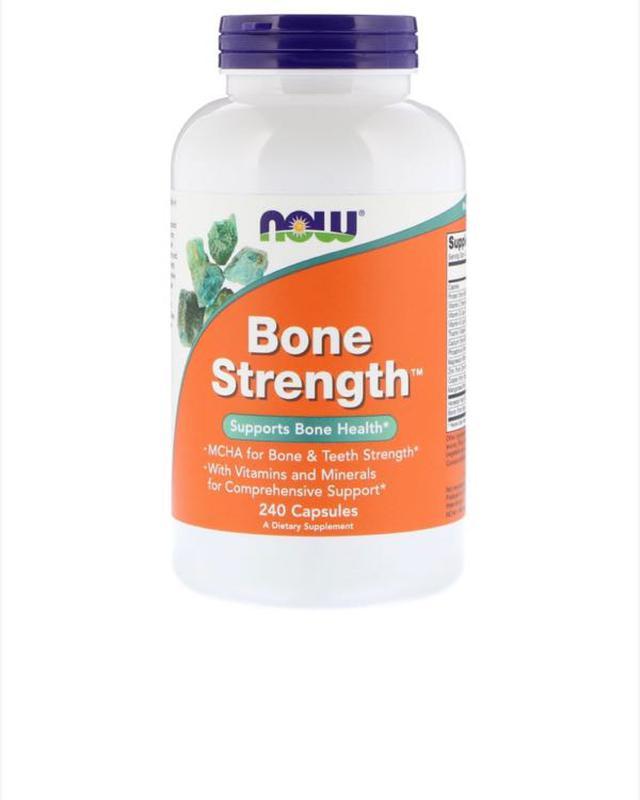 NOW foods прочные кости, BONE STRENGTH