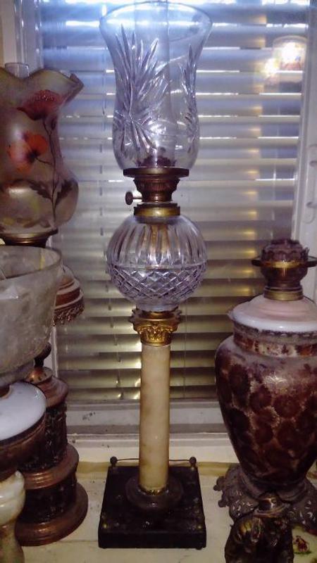 Антикварные керосиновые лампы