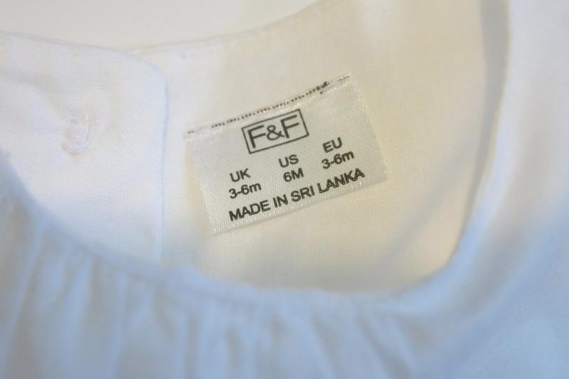 Платье туника р3-6мес f&f - Фото 3