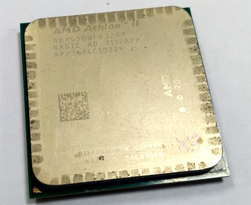 Процессор AMD Athlon II X3 450 3.2GHz 3 ядра Socket AM2+/AM3