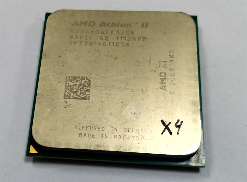 Процессор AMD Athlon II X3 450 @ AMD Phenom II X4 B50 sAM2+/AM3
