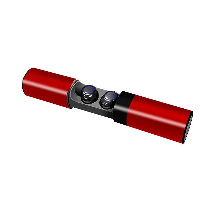 Беспроводные наушники JRGK S2-TWS 5.0 с боксом Red (13190) - Фото 2