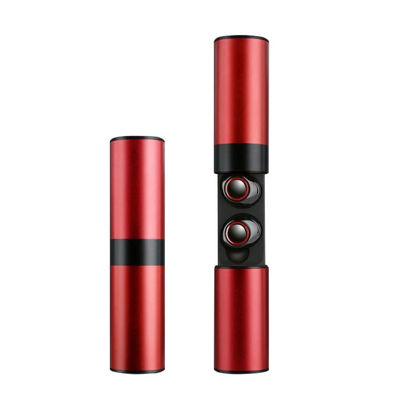 Беспроводные наушники JRGK S2-TWS 5.0 с боксом Red (13190) - Фото 3
