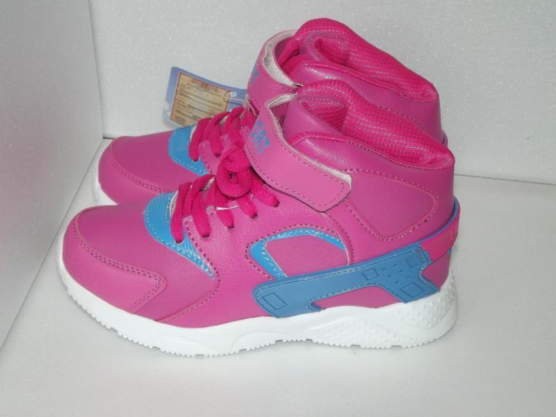 Новые кроссовки для девочки, шалунишка, 19,3см стелька