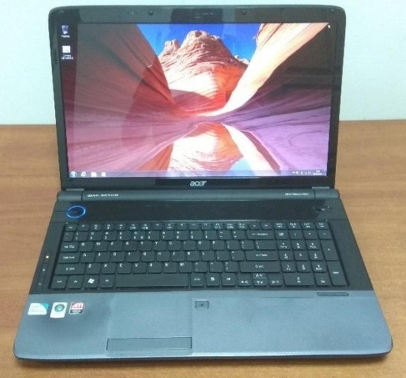 Огромный игровой ноутбук Acer Aspire 7735 ZG.