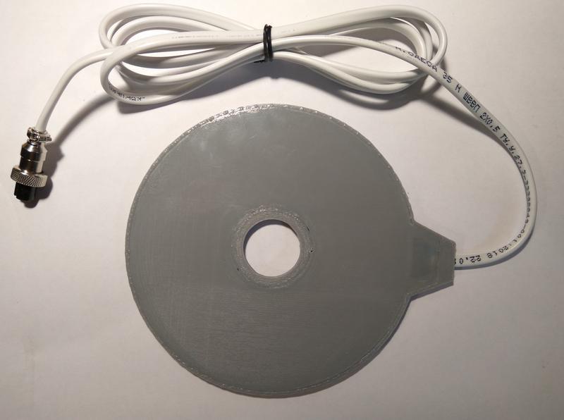 Катушка Мишина. Средний диск.