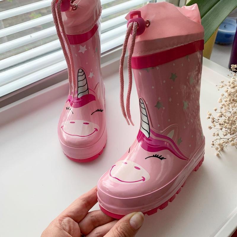 Резиновые сапоги резинові чоботи дитячі