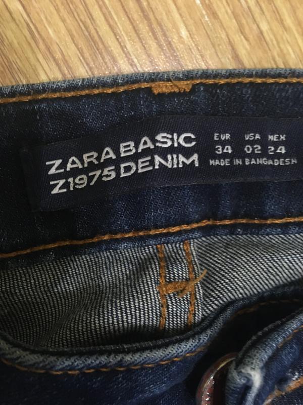 Брендовые джинсы зауженые  24р. - Фото 6