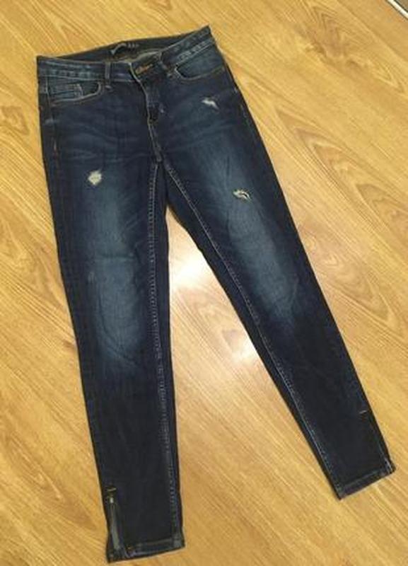 Брендовые джинсы зауженые  24р. - Фото 7