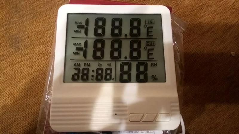 Термометр Гигрометр влагомер с выносным датчиком CX-301A
