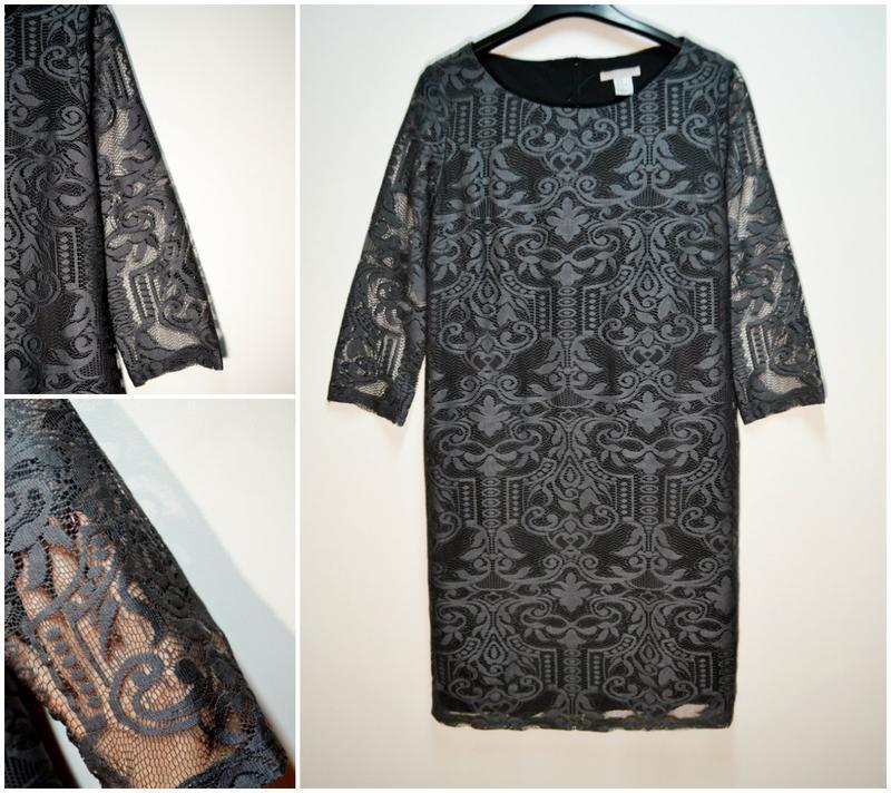 Красивое свободное платье миди в кружево с красивыми рукавами