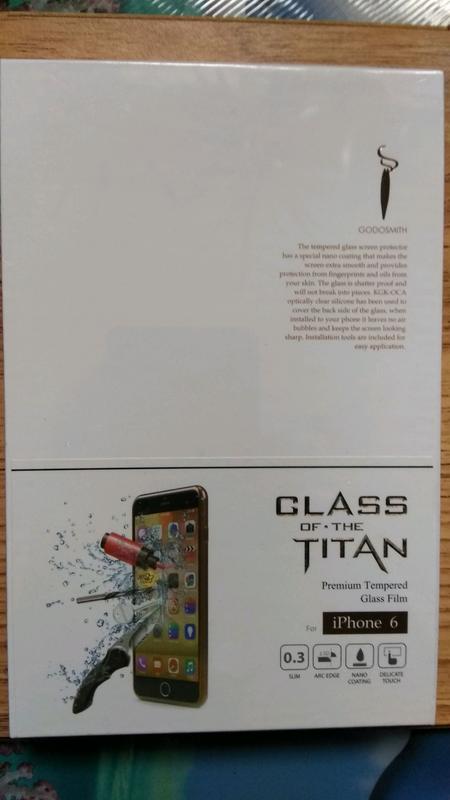 Защитное стекло Godosmith iPhone 6