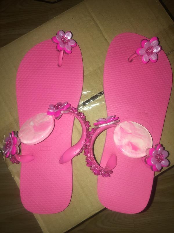 Шлепки вьетнамки top havainas розовые