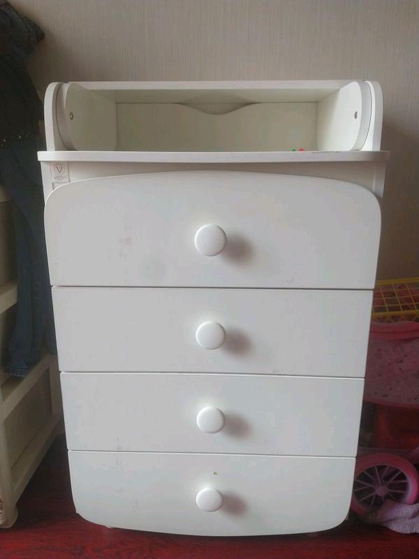 Пеленальный стол-комод