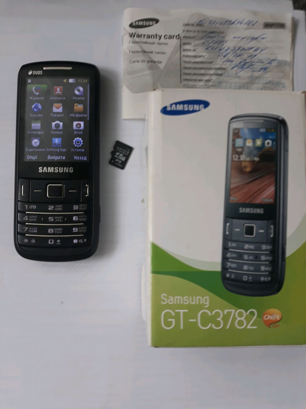 Телефон Samsung GT-C3782, Самсунг - Фото 2