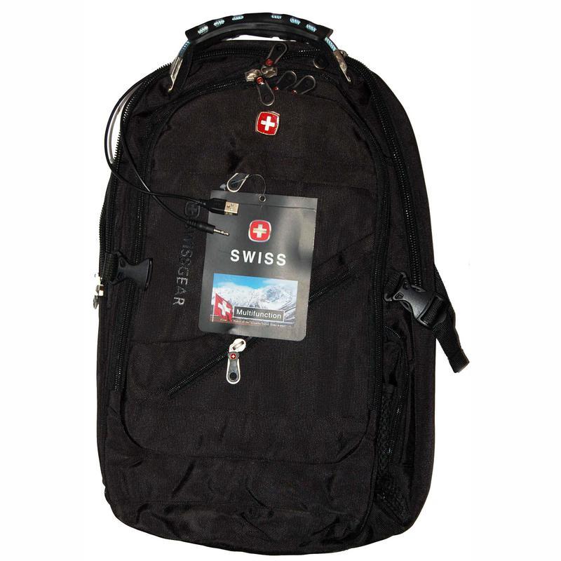 Рюкзак Swissgear 8810 с чехлом-дождевиком 40 л - Фото 6