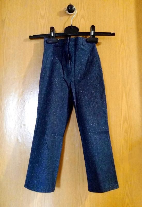 Детские брюки джинсы новые на девочку sale-50%