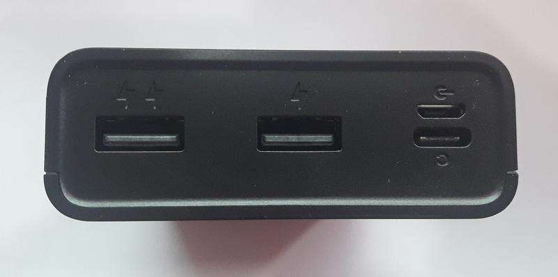 Портативное зарядное устройство Power Bank 20000 mAh - Фото 3