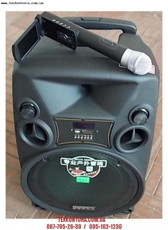Акустика. Колонки с микрофоном. Аккумуляторные колонки купить.TMS - Фото 11