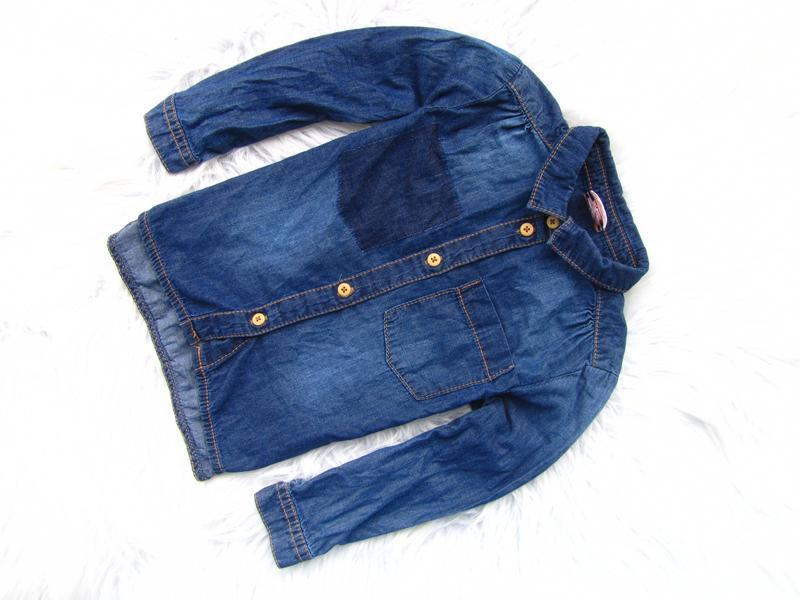 Качественная и стильная рубашка  джинсовая taoe a loel
