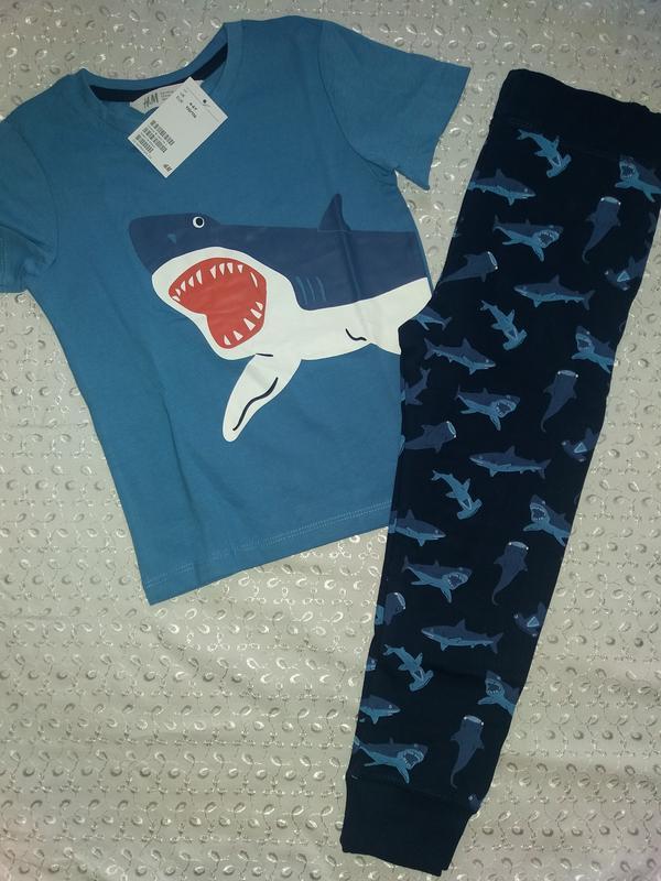 Костюм на мальчика 4-6л акула нм
