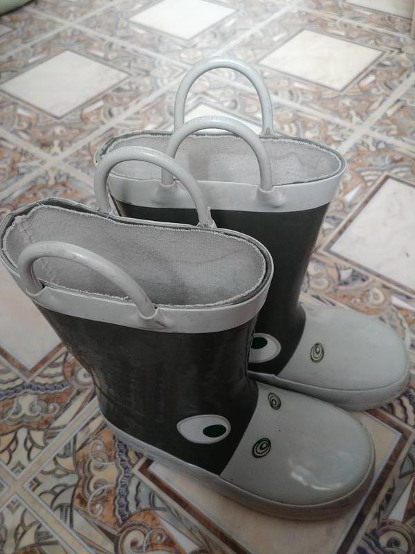Сапоги сапожки резиновые детские фирменные