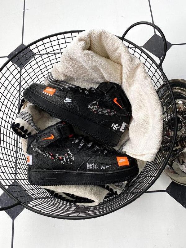 Nike air force 1 мужские стильные кроссовки - Фото 2